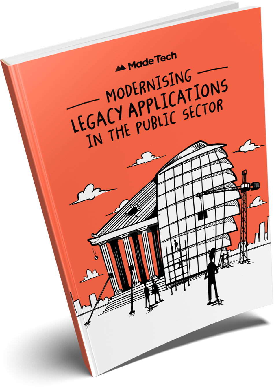 Modernising Legacy Applications in the Public Sector book cover