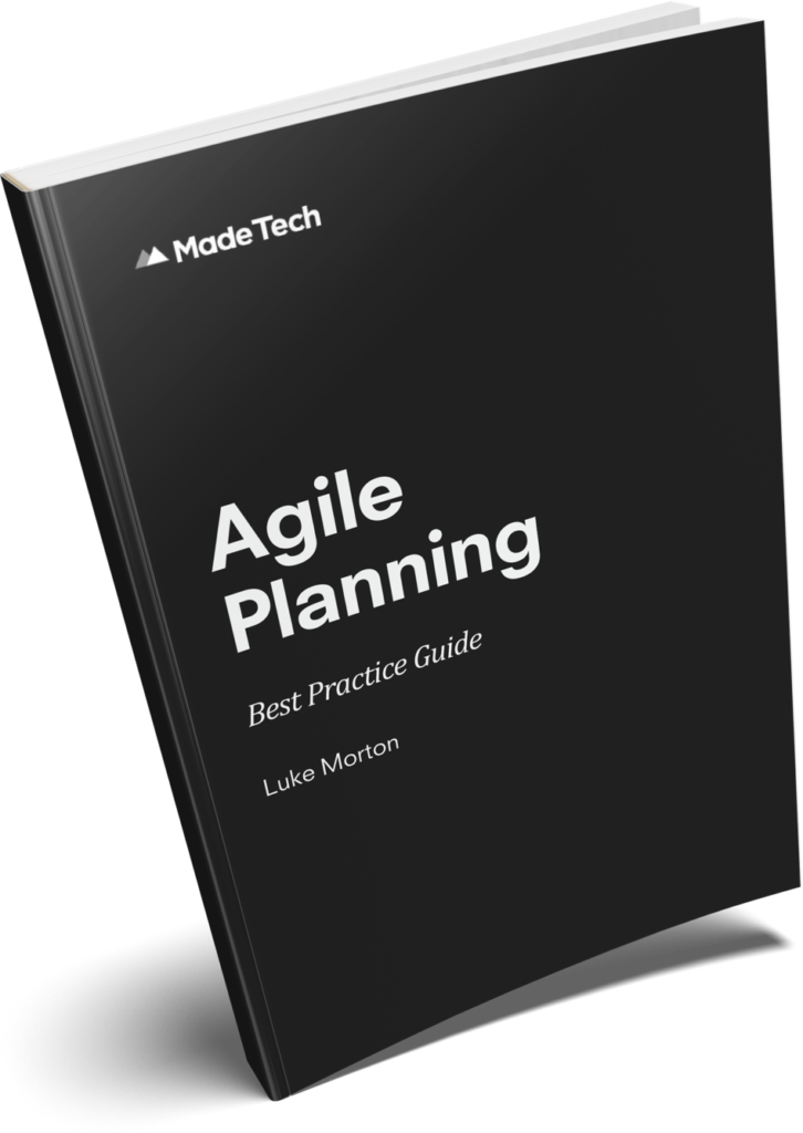 Agile Planning Best Practice Guide book cover
