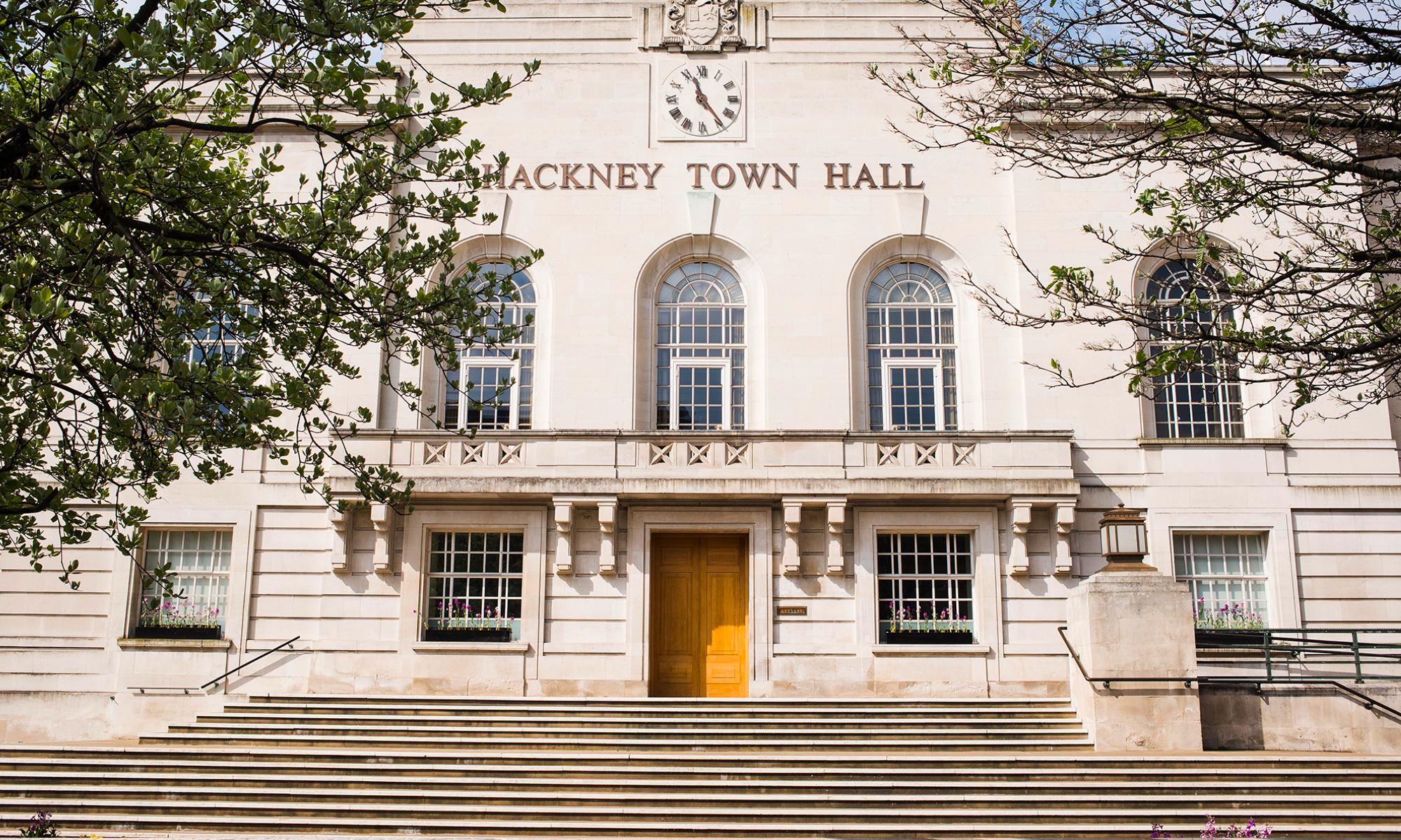 Hackney Town Hall building