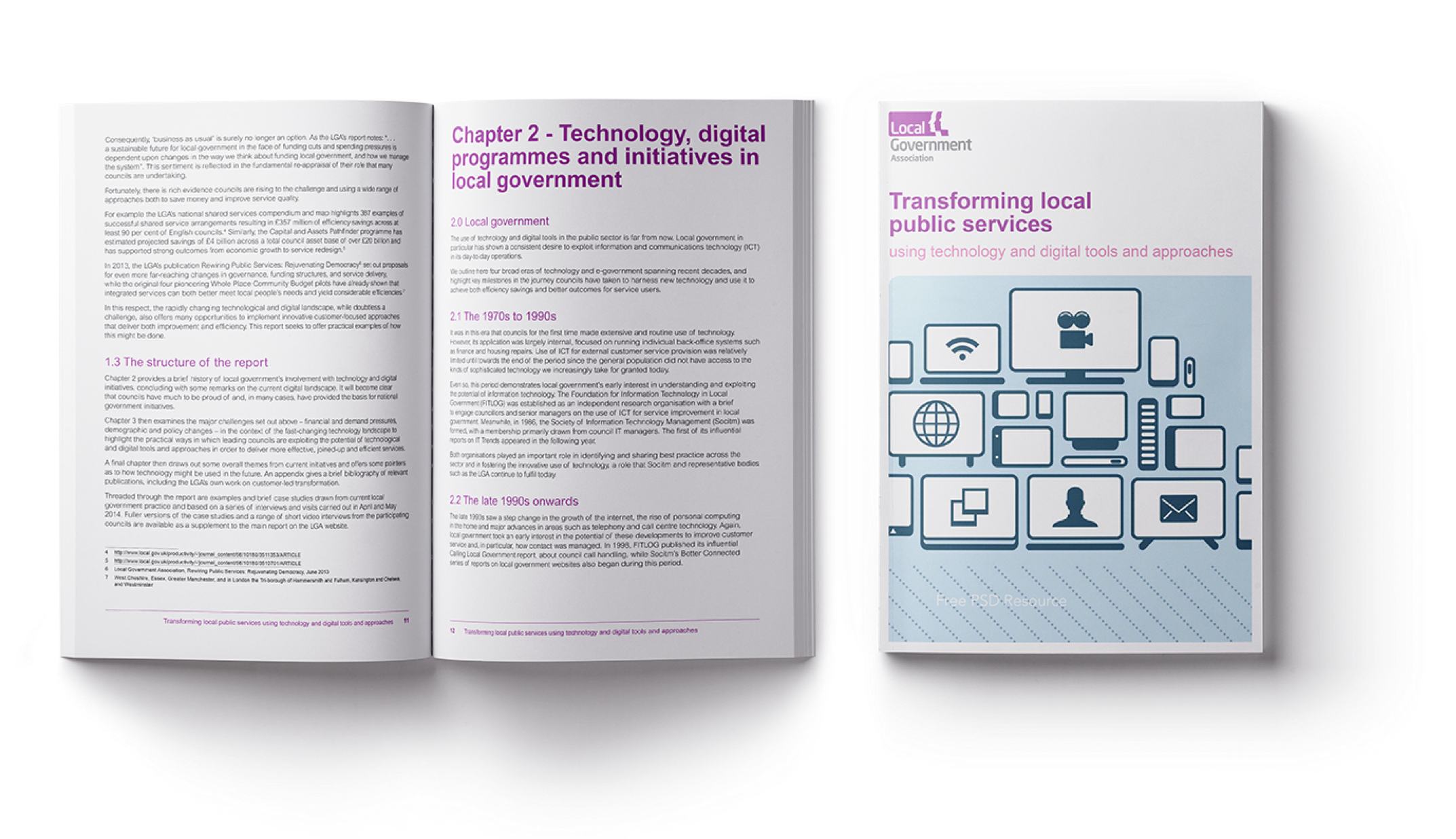 Technology digital programmes and initiatives in local government book