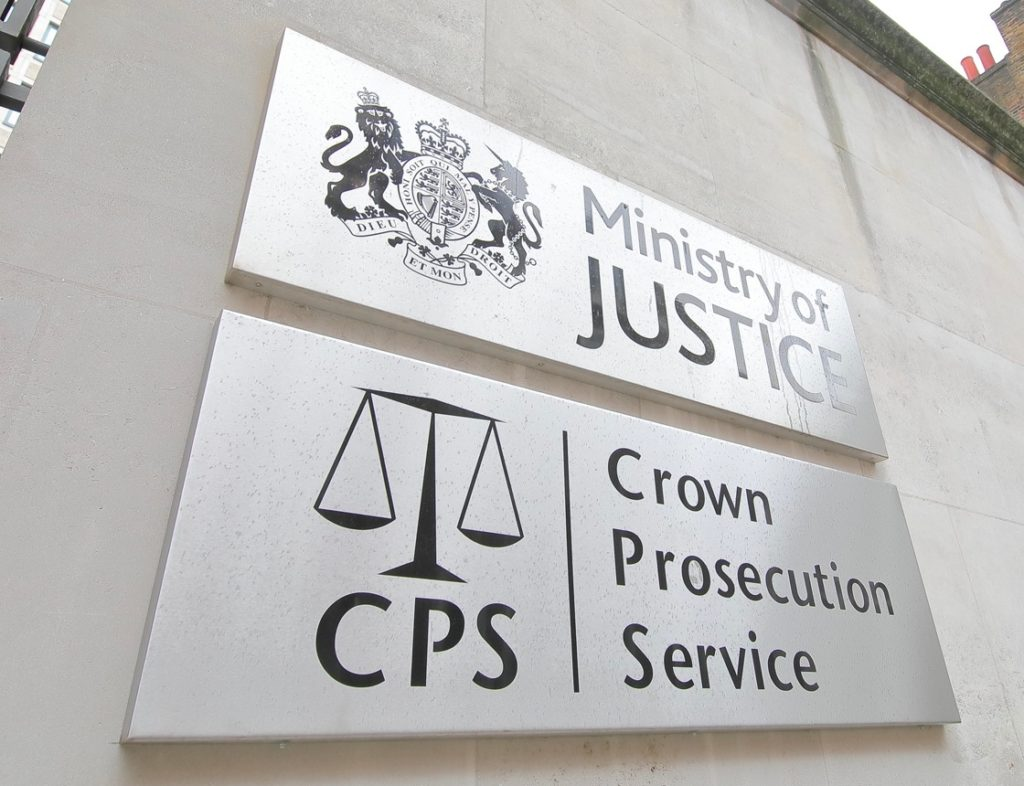 Ministry of Justice building sign